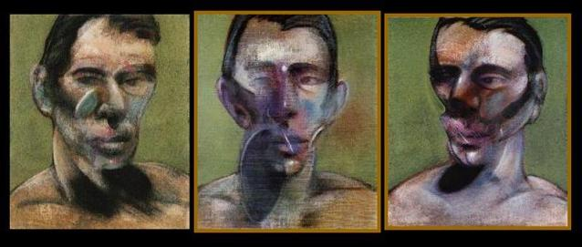 Francis-Bacon-Three-Studies-for-a-Portrait-of-Peter-Beard